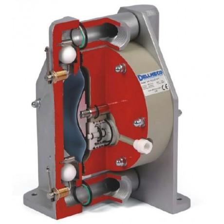 DELLMECO - pompe à membranes construction aluminium