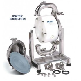 Pompe sanitaire à membranes DELLMECO