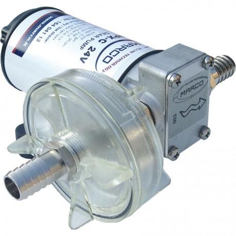 Pompe Inox à engrenages, alimentation 12V ou 24V_UPX-C