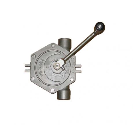 Pompe manuelle rotative Voltiana Inox