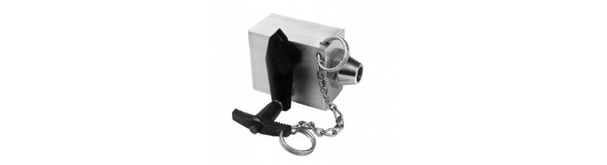 Safety excess flow valves