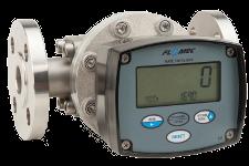 Compteur volumétrique Inox FLOMEC OM025 avec afficheur digital RT40