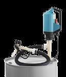 Pompe vide-fut électrique PVDF pour acides et liquides agressifs